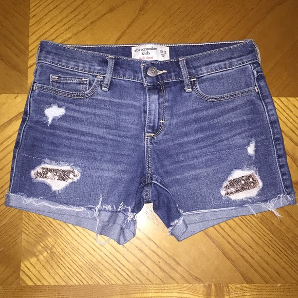 abercrombie kids Other - Girls Abercrombie midi shorts size 11/12